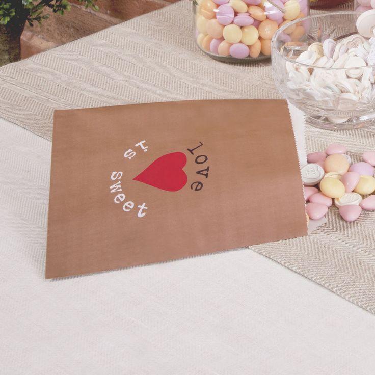 Tüten  My Type  (25 Stück)  Gastgeschenke Candybar Hochzeit Vintage
