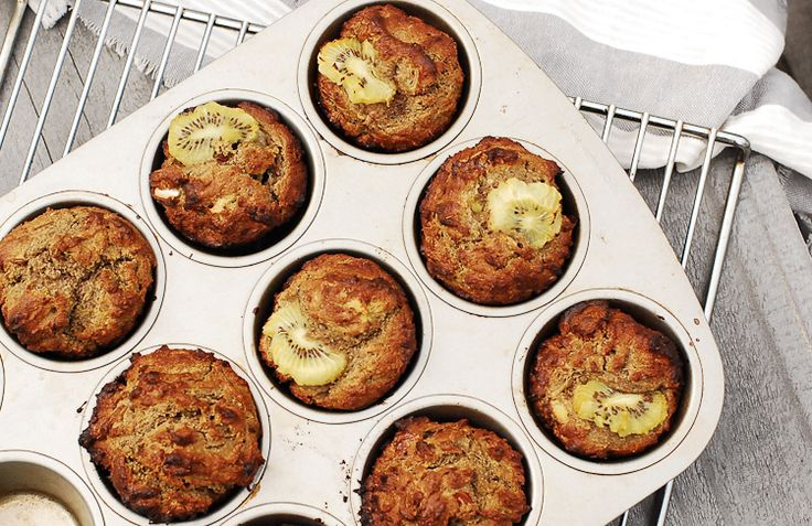 Kiwifruit And Flaxseed Muffins   fastPaleo Primal and Paleo Diet Recipes