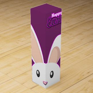 27 best easter wine boxes images on pinterest wine gift boxes lovely easter bunny wine boxes easter wine giftbox negle Images