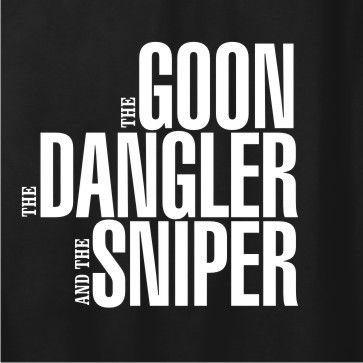 The Goon, The Dangler and The Sniper hockey shirt