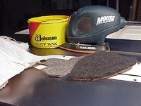 Cleaning/Protecting Cast Iron - table saw maintenance - NewWoodworker.com LLC