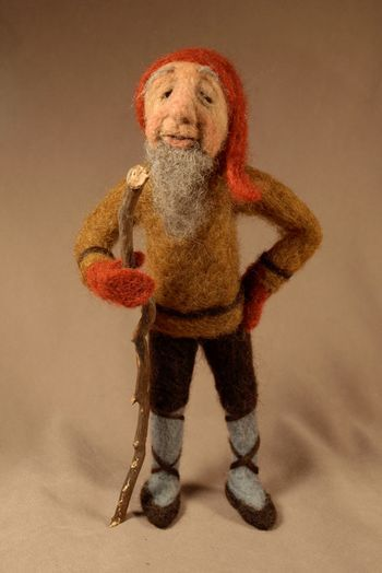 Icelandic Jolasveinar (variously called Yule Goblins, Christmas Men, Christmas Elves or Christmas Lads in English) arrive down from the mountains on December 12th, as that is the first of the 13 Christmas days