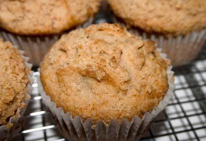 #Muffins aux #pommes