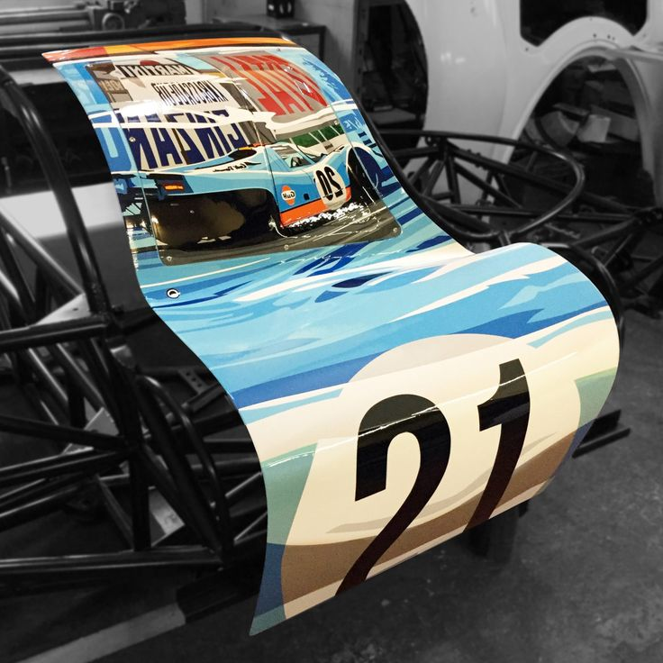 Joel Clark's Porsche pARTs 917 Doors Are Now Available In The Petrolicious Shop • Petrolicious