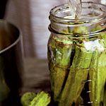 Pickled Okra Recipe   MyRecipes.com