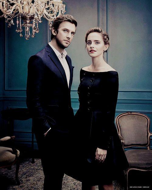 Emma Watson and Dan Stevens // the beauty and the beast