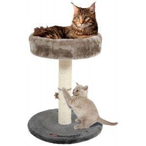 Arbre à chat 4 en 1 gris - Zolux
