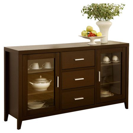 Found it at Wayfair - Delano Dining Buffet in Dark Espresso