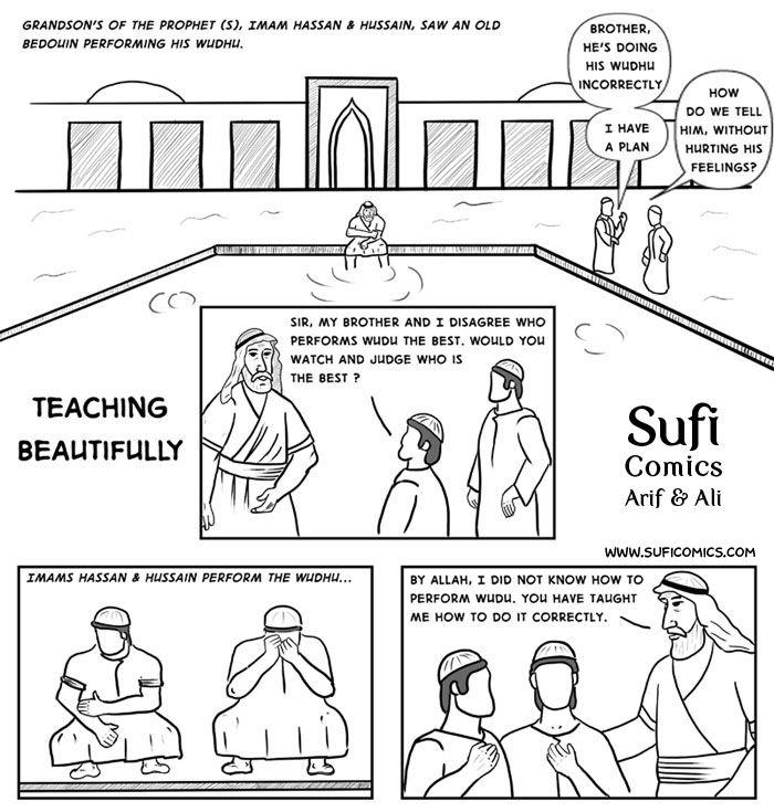 Teaching Beautifully - Sufi Comics