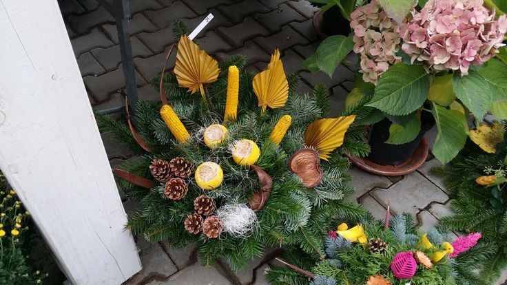 Blumen Markus in St. Georgen -   Allerheiligengestecke 2015