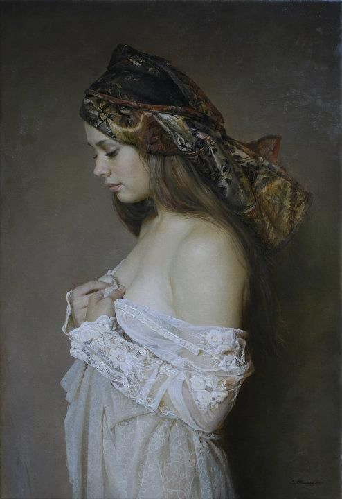 Erotic paintings of sergey marshennikov 1 - 2 5