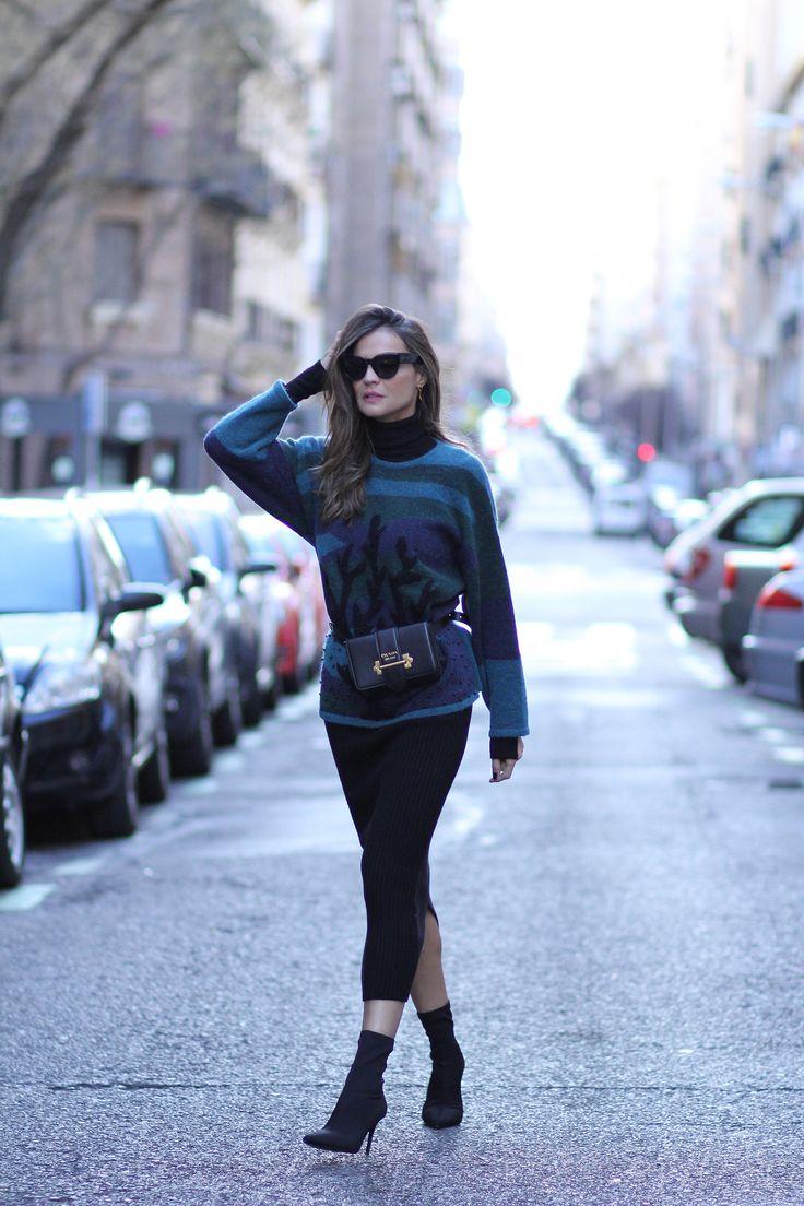 Piękny wygląd swetra - Lady Addict