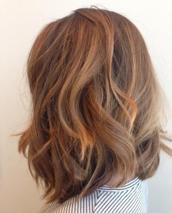 Wavy #lob haircut by Madison using @oribehaircare  #artistrybuckhead  #oribeobsessed