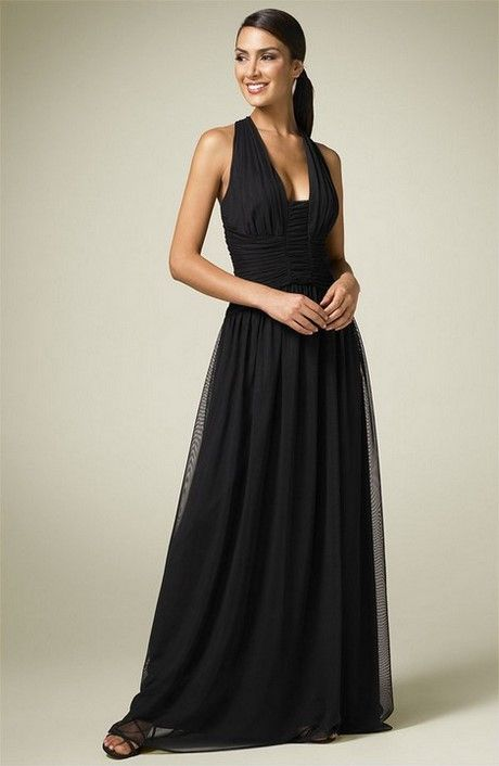 Vestiti lunghi eleganti neri   Stile e bellezza