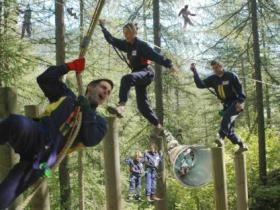 Adventure Parc: Mount Tamborine Adventure Parc in the Gold Coast Hinterland is designed for family fun and fitness, it's challenging for all ages and will appeal to the daredevil in everyone.    This adventure course takes elements of SAS commando training...