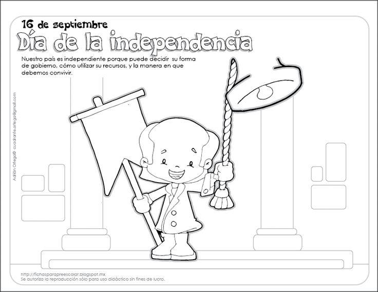 Dibujos Para Colorear 20 Noviembre Preescolar: 34 Best Images About Fiestas Patrias On Pinterest