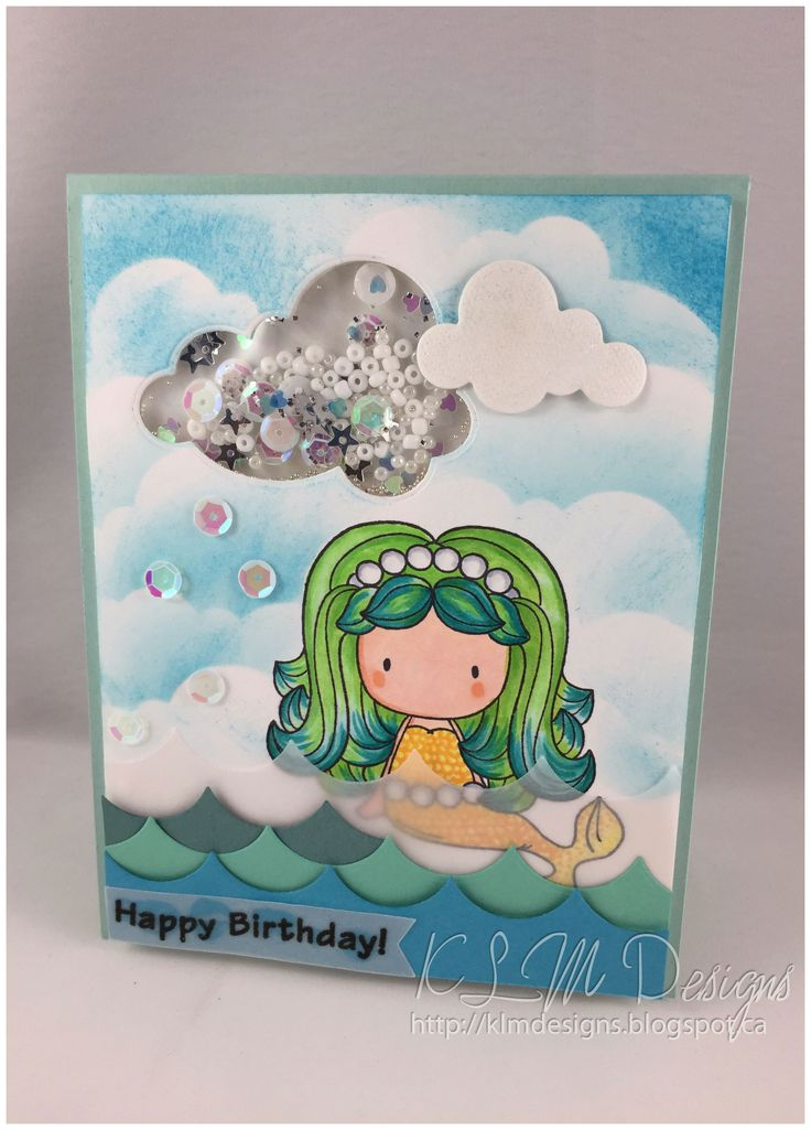 Mermaid Birthday C.C. Designs Sugar plums Mermaid Emma