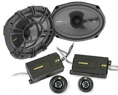 Car Speakers and Speaker Systems: Kicker Car Audio Css694 Cs-Series 6X9 2-Way Component Speaker System Evc New BUY IT NOW ONLY: $129.95