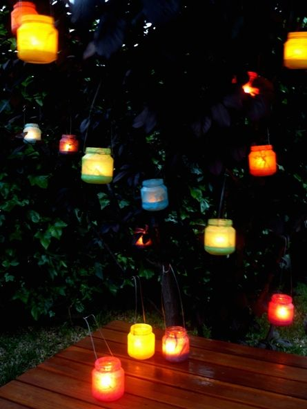 recycled lanterns