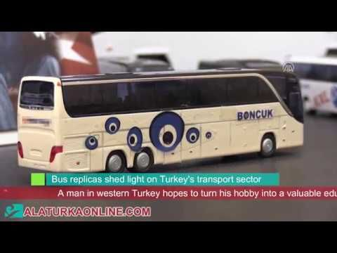 Bus replicas shed light on Turkey's transport sector