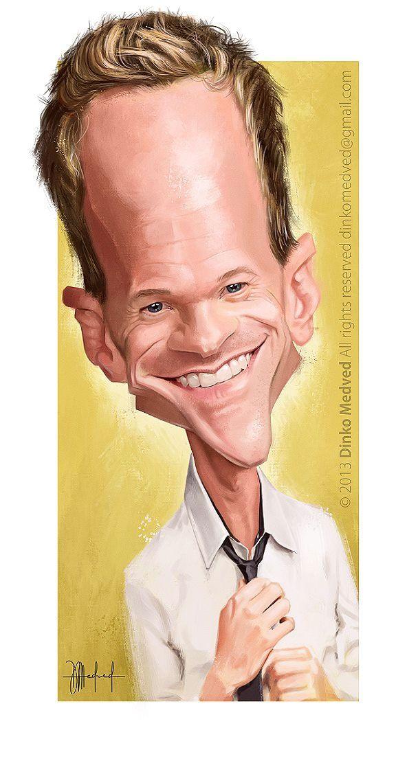 Caricatura de Neil Patrick Harris