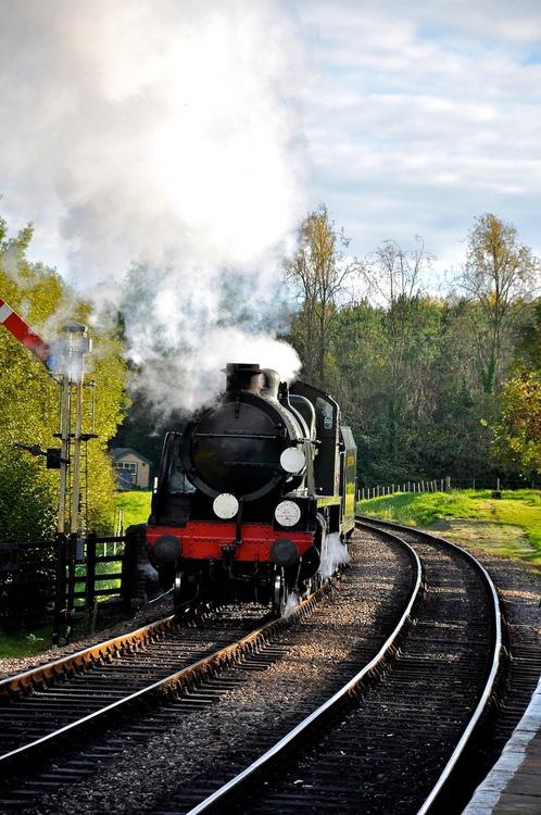 Bluebell Railway 22-10-2010 (by Martin Pettitt)    Turners Hill, England