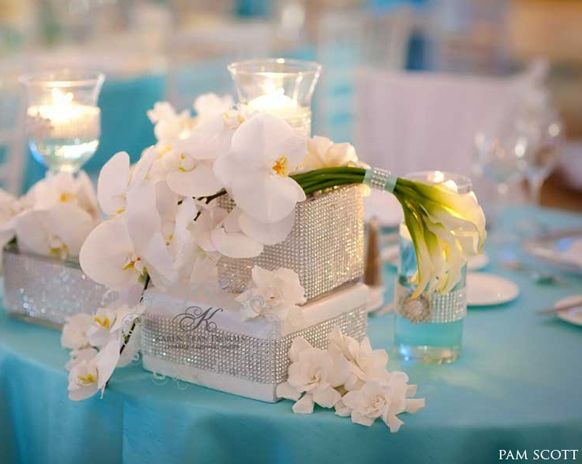 17 Best Images About Caribbean Weddings Ideas For Brides: 17 Best Ideas About Tiffany Blue Centerpieces On Pinterest