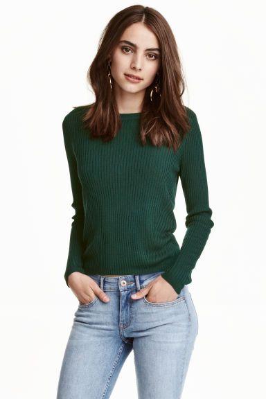 Rib-knit jumper | H&M