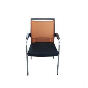 Krzesło konferencyjne Sitag World oranż #meble #biuro