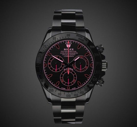Rolex Daytona: Fraise and just for the heck of it I'll get two Rolexes when I get rich...
