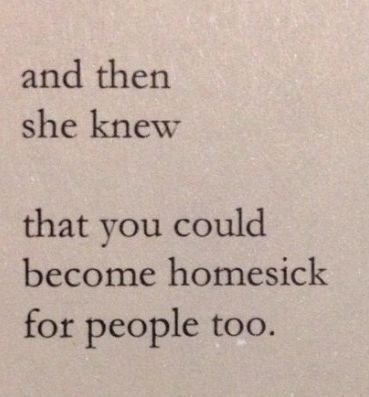 homesick quote