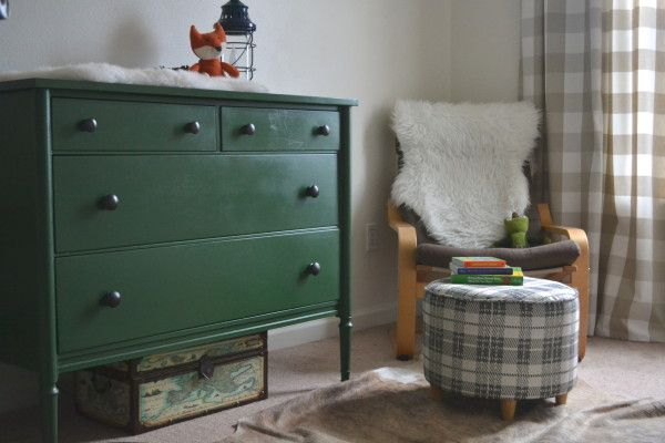 A manly but baby friendly nursery for a sweet little boy!