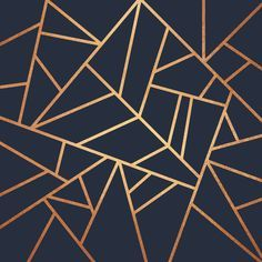 Poster | COPPER AND MIDNIGHT NAVY von Elisabeth Fredriksson