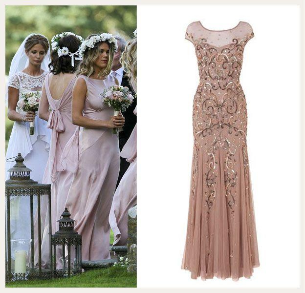 Millie Mackintosh bridesmaid dresses