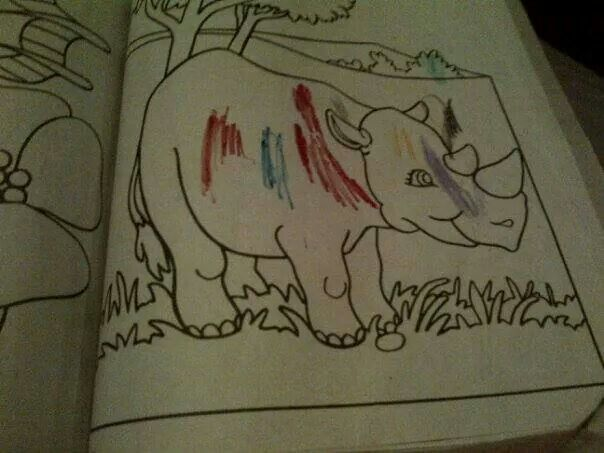 This rhino SERIOUSLY got poached! *safe our rhinos!*