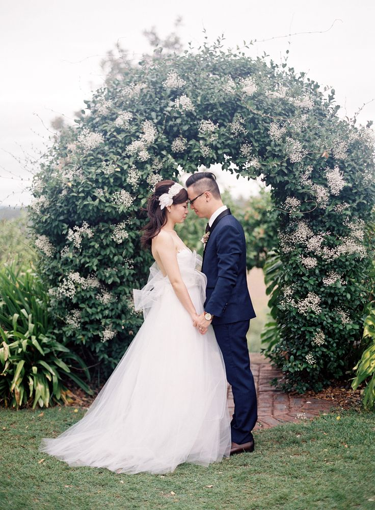 Initmate Garden Wedding - Spicers Hidden Vale