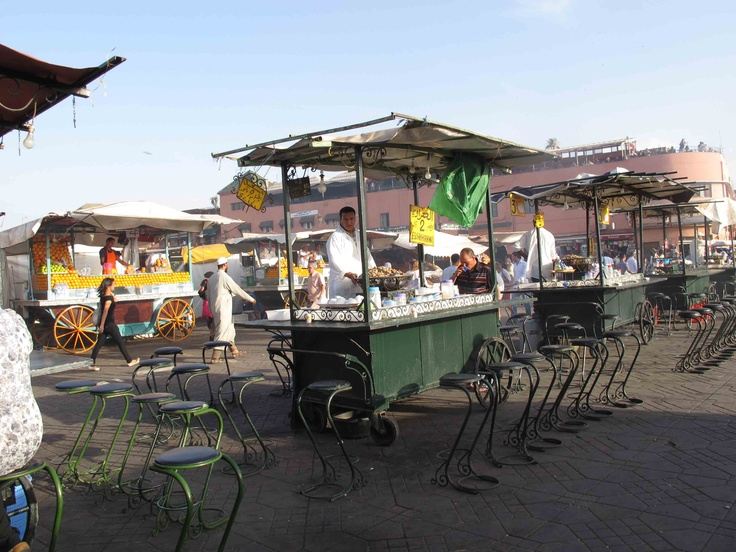 Blueberry Muffin Bakery: Place Jemaa el-Fna Marrakech