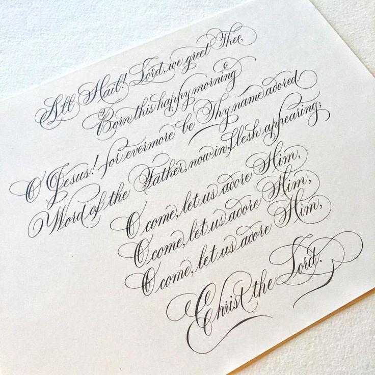 Подписать красивыми буквами открытку
