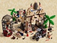 LEGO Instructions 5988 The Temple of Anubis