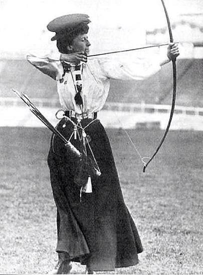 Sybil Fenton Newall won a gold medal at the 1908 London Olympics at the age of 53.