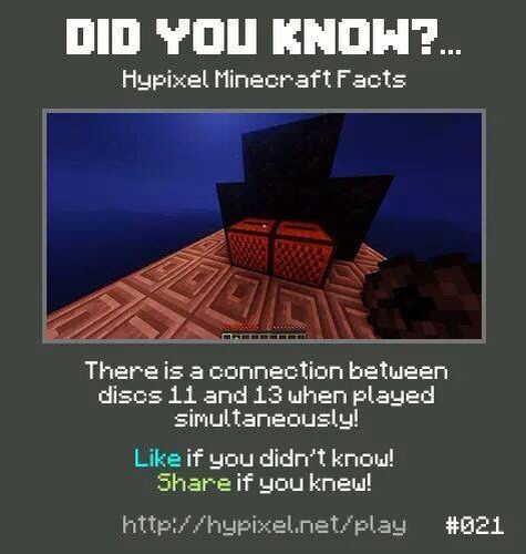 Minecraft did you know! #021