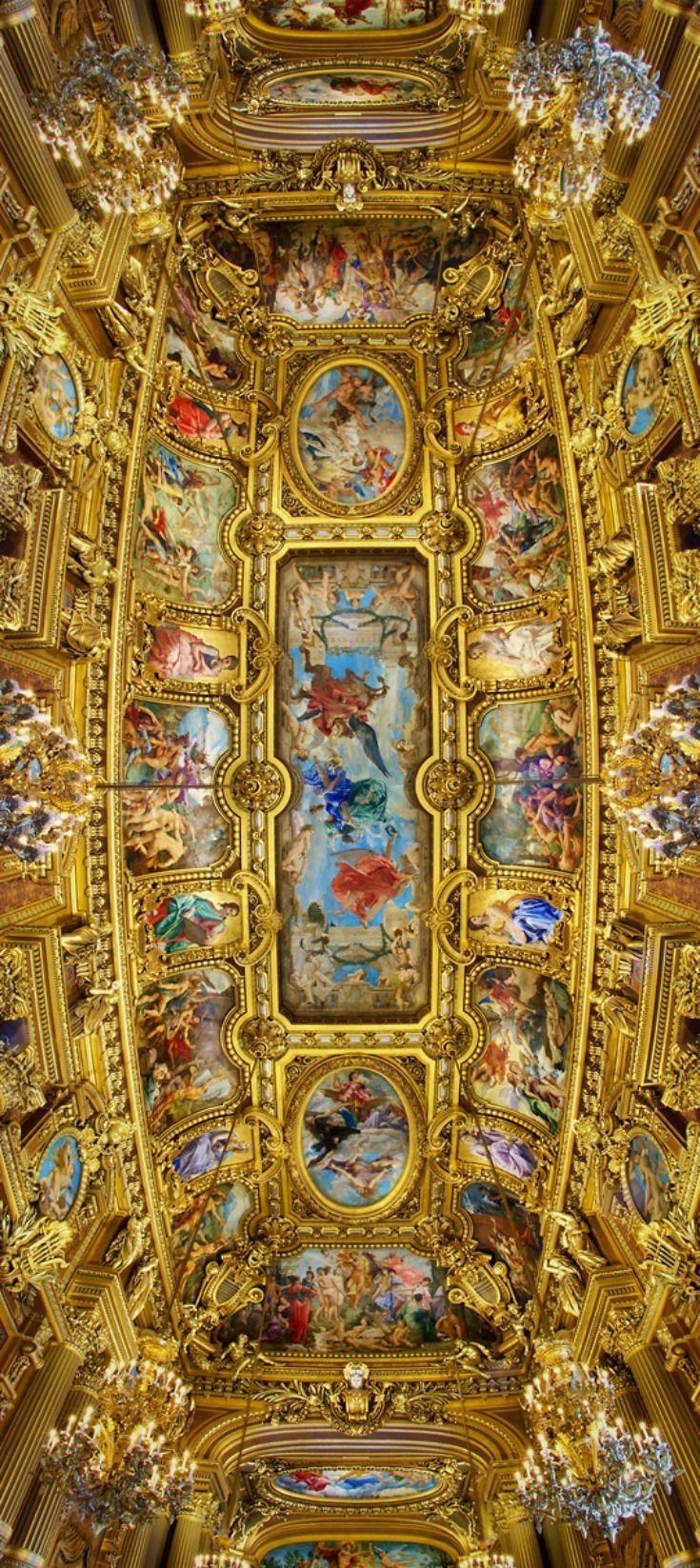 Ceiling, Opéra Garnier, Paris