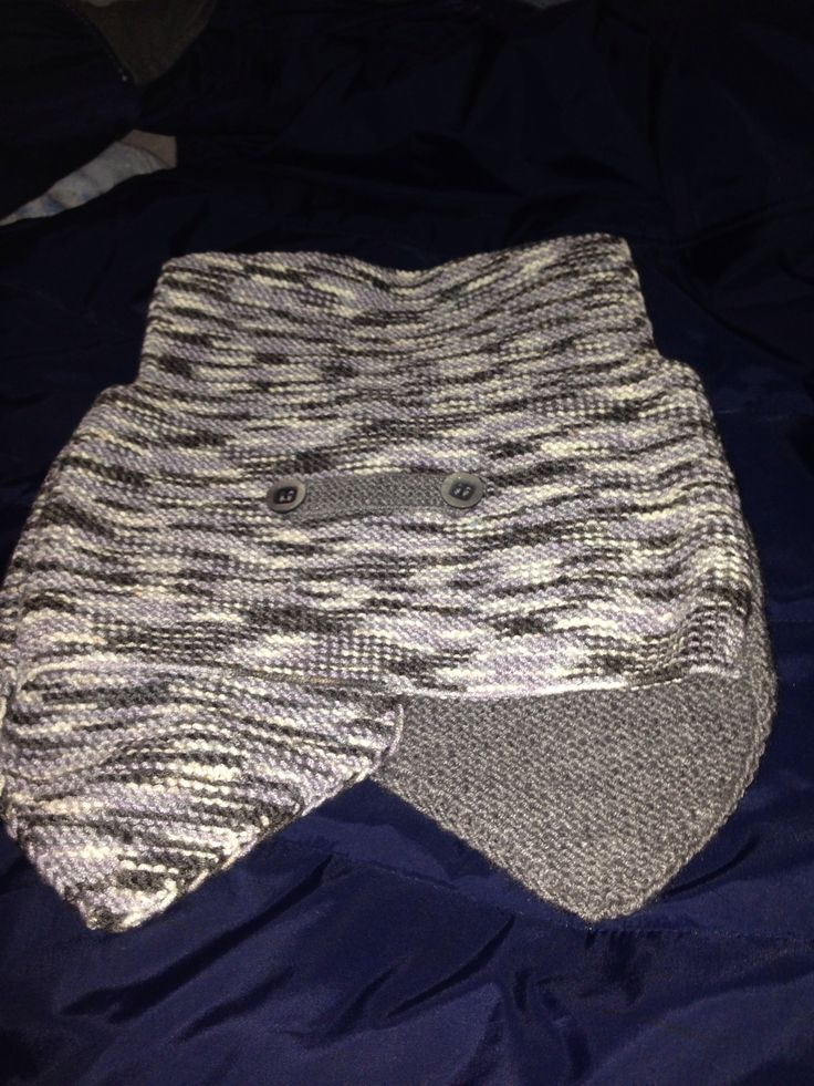 Hand made baby vest