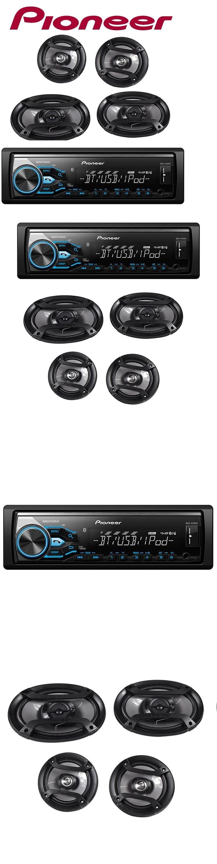 Car Audio In-Dash Units: Pioneer Mxt-X3869bt Bluetooth In-Dash Digital Media Receiver System W Speakers -> BUY IT NOW ONLY: $89.96 on eBay!
