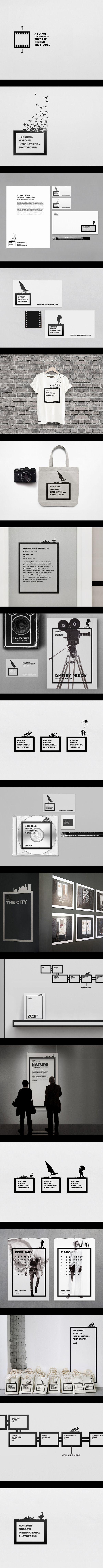 """""""El foco de las imagenes esta detras de los marcos"""".Es la idea que se plantea este trabajo, y que claramente se ve a través del lenguaje y las composiciones que utiliza.Si bien el marco negro se repite en todas las piezas,la riqueza del trabajo se encuentra en la variedad de figuras que se desprenden de el y las imagenes que se colocan por detras.Un Sistema atractivo y pertinente a la tematica de la fotografia."""
