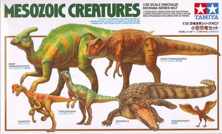 Tamiya Mesozoic Creatures 1:35 Scale Dinosaur Diorama Kit - available from Hobbies, the UK's favourite online hobby store!
