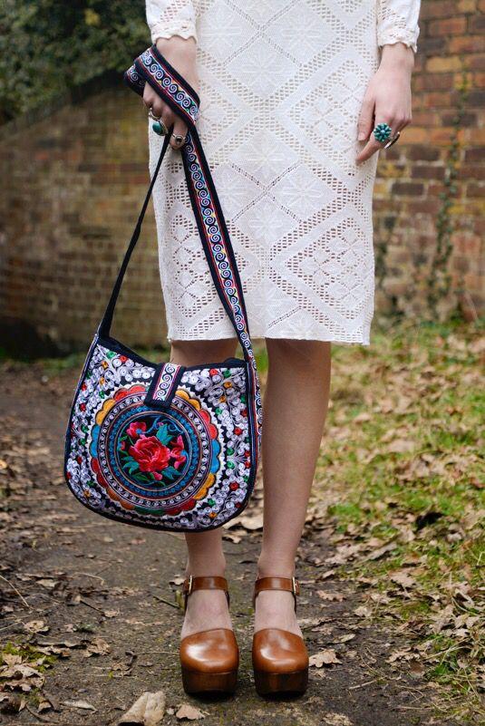 Floral summer bag