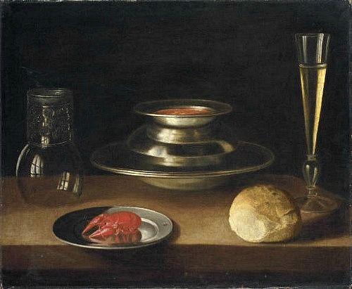Sebastian Stoskopff Still Life with Crayfish 17th century