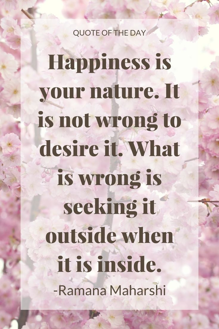 We are beginning to see that we are masters of our own happiness. We need no longer depend on material objects or others opinions to feel good.  #QOTD #quoteoftheday #zen #happiness #happylife #selfcare