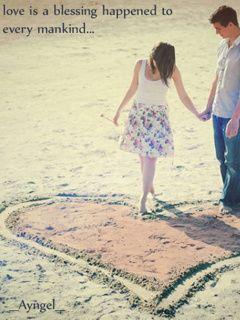Download Lovers Heart Mobile Wallpaper | Mobile Toones